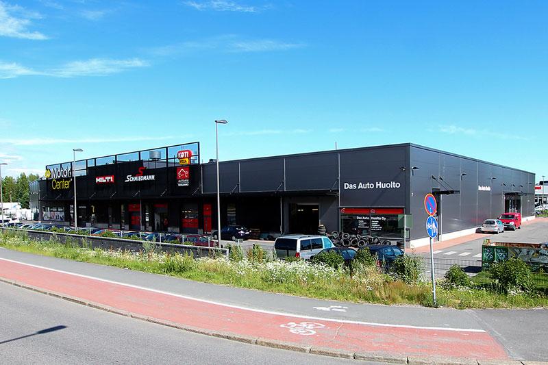 Motor Center Konala, vuokrattavat liiketilat Helsinki